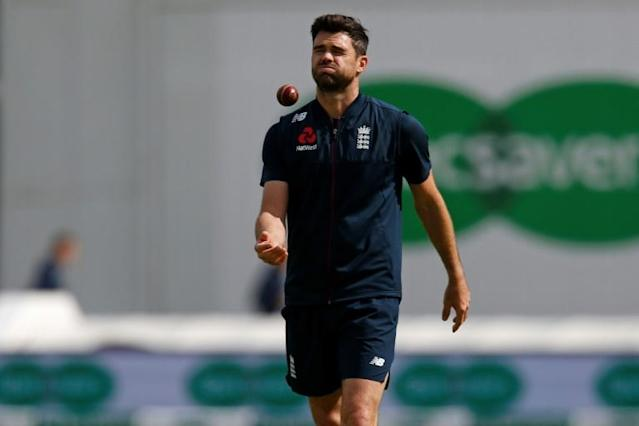 James Anderson is England's all-time leading Test wicket-taker (AFP Photo/Ian KINGTON)