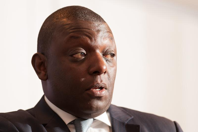 Garth Crooks speaks at the European Synthetic Turf Organisation (ESTO) press briefing, in central London. (Photo by Dominic Lipinski/PA Images via Getty Images)