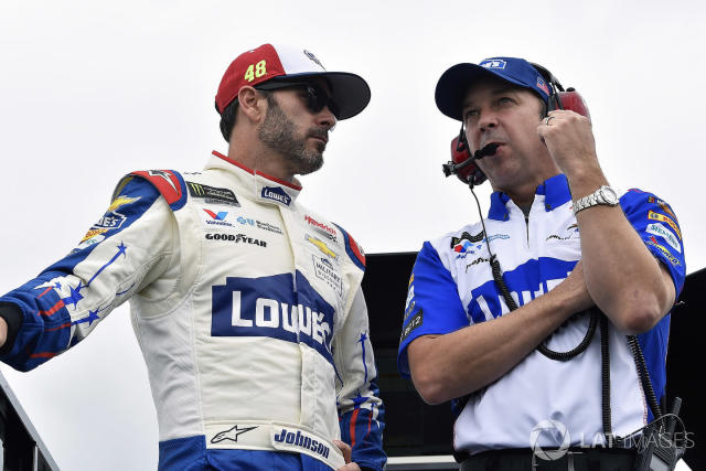 Jimmie Johnson and Chad Knaus sat down for a media availability today in which they offered insight into the decision to end their relationship after 17 years as driver and crew chief.