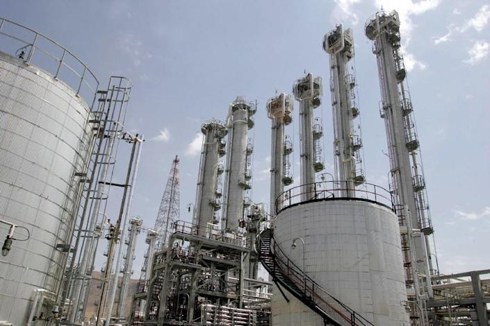 Iran's Arak reactor will be redesigned so that it does not produce weapons-grade plutonium -- the alternative to highly-enriched uranium for a nuclear weapon (AFP Photo/Atta Kenare)