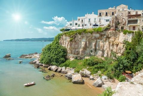 Seaside towns like Vieste are easy to reach - Credit: and.one - Fotolia