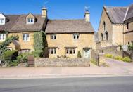 "<p>This Grade II listed Airbnb Cotswold cottage dates back to the 17th century and is set in the centre of Bourton-on-the-Water. The semi-detached Chapel Cottage sits just off Bourton's high street and inside, you'll find plenty of character – from exposed oak beams to the Cotswold stone inglenook fireplace and the lovely eaves room. It's an interior lover's dream!</p><p><strong>Sleeps:</strong> 5</p><p><strong>Price per night:</strong> £306</p><p><a class=""link rapid-noclick-resp"" href=""https://airbnb.pvxt.net/Kej4gz"" rel=""nofollow noopener"" target=""_blank"" data-ylk=""slk:MORE DETAILS"">MORE DETAILS</a></p>"