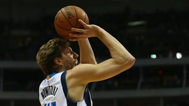 After a 14-game absence, Dirk Nowitzki will return to the Dallas Mavericks' lineup for Friday night's game at the Los Angeles Clippers.