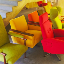 """<p>As a contestant on BBC Two's Interior Design Masters With Alan Carr, Sharp's eye for combining pattern and knack for upholstering lacklustre furniture into statement pieces took her to the semi-finals. Now she is available to sprinkle a little magic onto any tired seats or sofas in your home. <a href=""""https://micaelasharpdesign.com/"""" rel=""""nofollow noopener"""" target=""""_blank"""" data-ylk=""""slk:micaelasharpdesign.com"""" class=""""link rapid-noclick-resp"""">micaelasharpdesign.com</a></p>"""