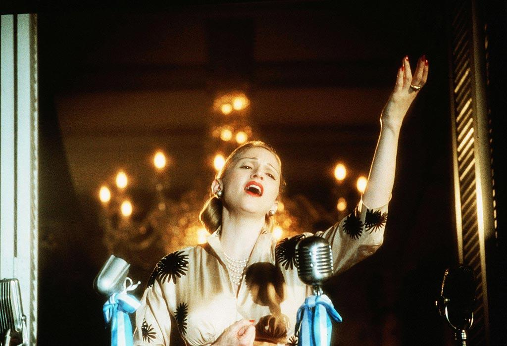 """<a href=""""http://movies.yahoo.com/movie/1800272377/info"""">EVITA</a>  Box Office: $50,047,179   The movie that earned Madonna a Best Actress Golden Globe for her role as Eva Peron and (briefly) restored her as a hot Hollywood commodity."""