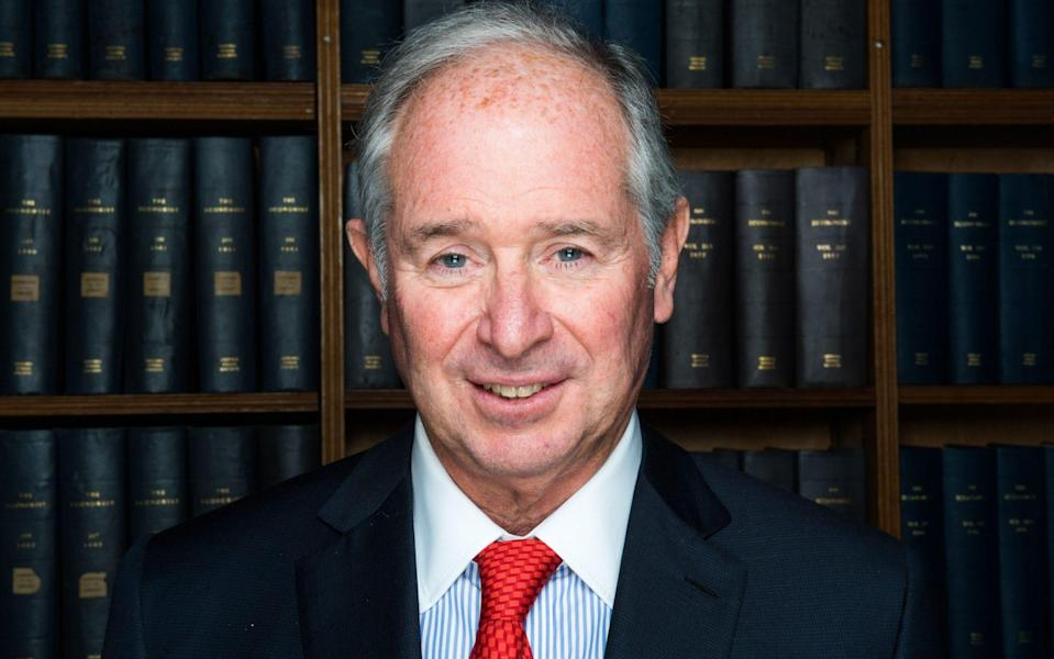 Stephen Schwarzman -  Roger Askew/The Oxford Union/REX