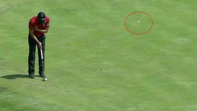 How did he do that? Image: PGA