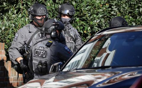 Specialist counter terrorism police are on the scene - Credit: Reuters