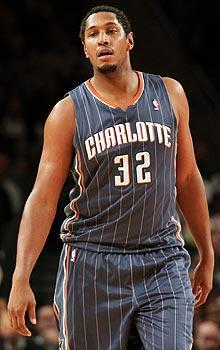Bobcats center Boris Diaw scored 27 points in a 118-110 victory over the Knicks