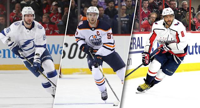 Who will you select if you land the No. 1 overall pick? (Photos by Bruce Bennett/Grant Halverson/Getty Images)