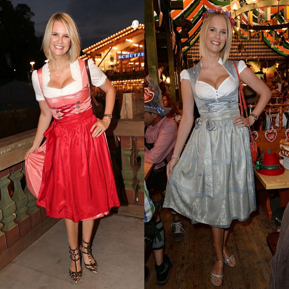 retro wiesn die dirndl looks der stars heute und damals. Black Bedroom Furniture Sets. Home Design Ideas