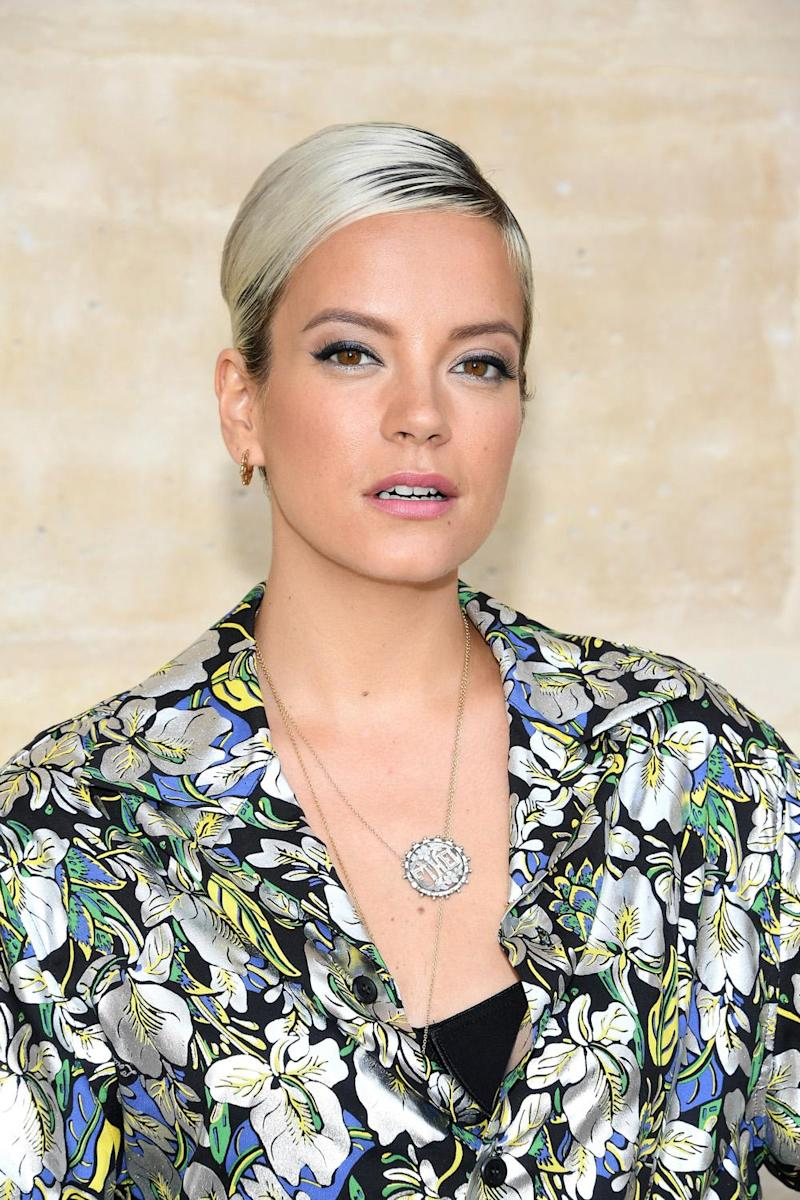 Outrage: Singer Lily Allen defended Denise Welch (Pascal Le Segretain/Getty)