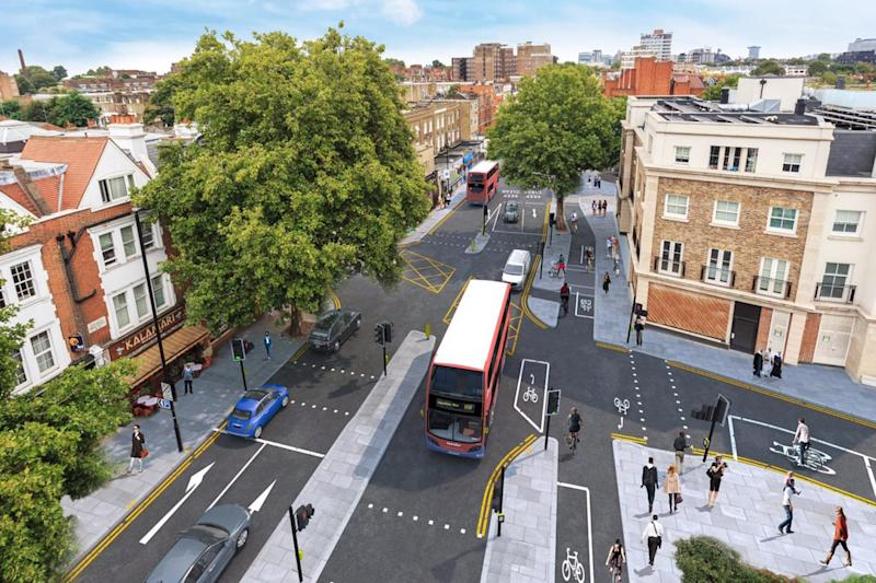 CS9: the west London cycle path proposed by TfL