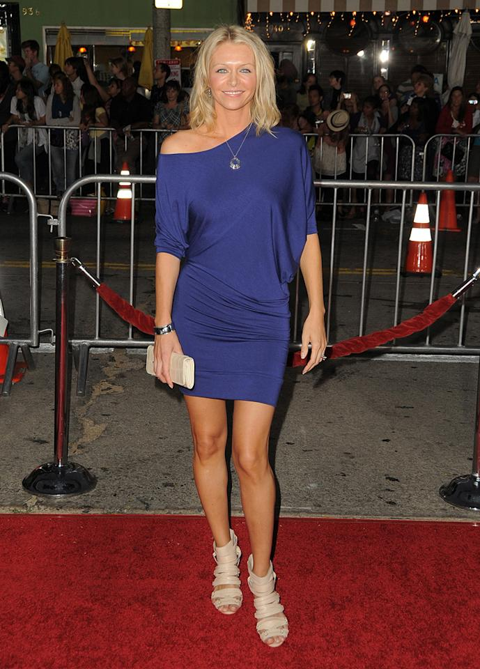"""<a href=""""http://movies.yahoo.com/movie/contributor/1809737783"""">Anne Marie DeLuise</a> at the Los Angles premiere of <a href=""""http://movies.yahoo.com/movie/1810091566/info"""">Love Happens</a> - 09/15/2009"""
