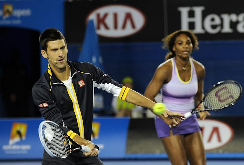 Novak Djokovic (left) is one of only four men to be named ITF World Champion four or more times while the 33-year-old Serena Williams (right) is the oldest player ever to be named for the title