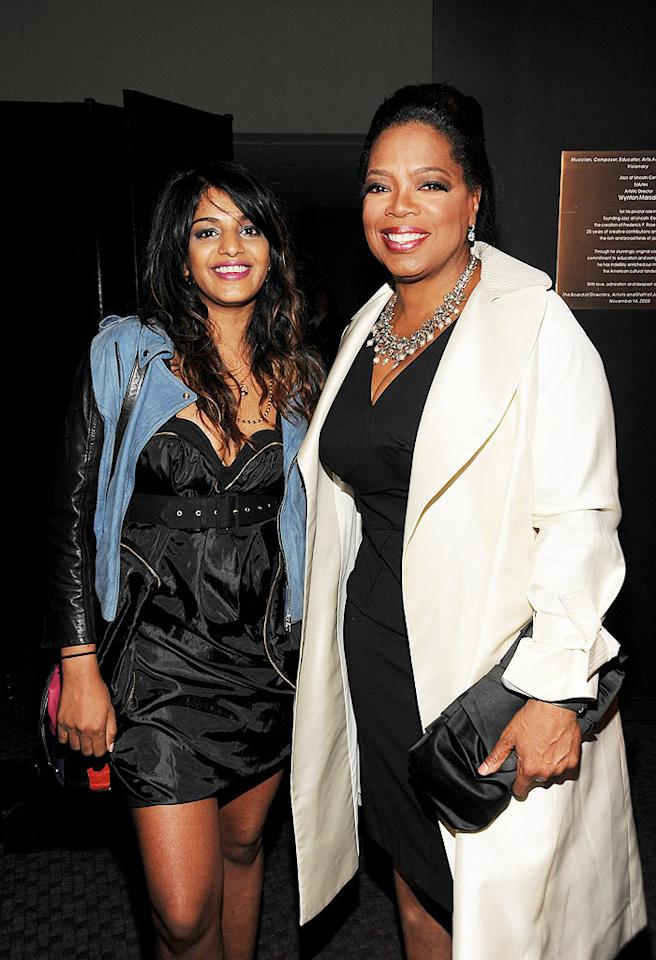 "The talk show queen posed with M.I.A. -- another of this year's honorees. Perhaps we'll see her performing on Oprah's show soon! Kevin Mazur/<a href=""http://www.wireimage.com"" target=""new"">WireImage.com</a> - May 5, 2009"