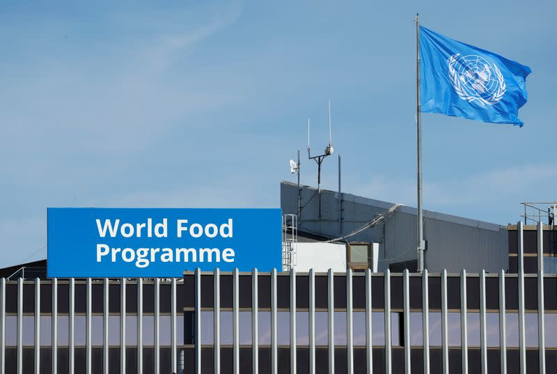 World Food Programme says needs $6.8 billion over next 6 months to avert famine