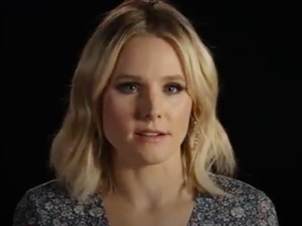 "Kristen Bell had a role in ""The Disaster Artist."""