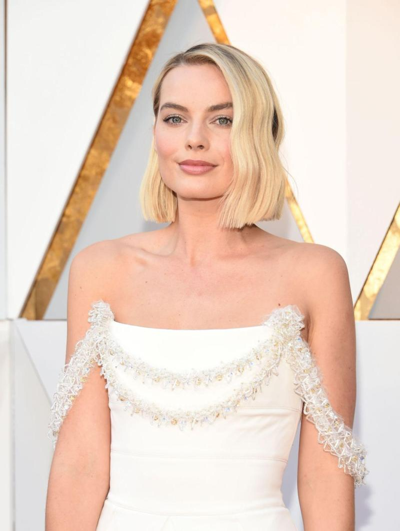 The Aussie star looked ethereal with her hair left down in loose waves. Photo: Getty Images