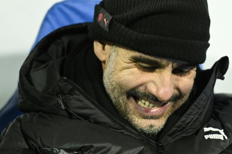 Guardiola's contract with City runs until 2021 (AFP Photo/Denis LOVROVIC)