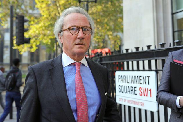 Lord Keen QC arrives at the Supreme Court