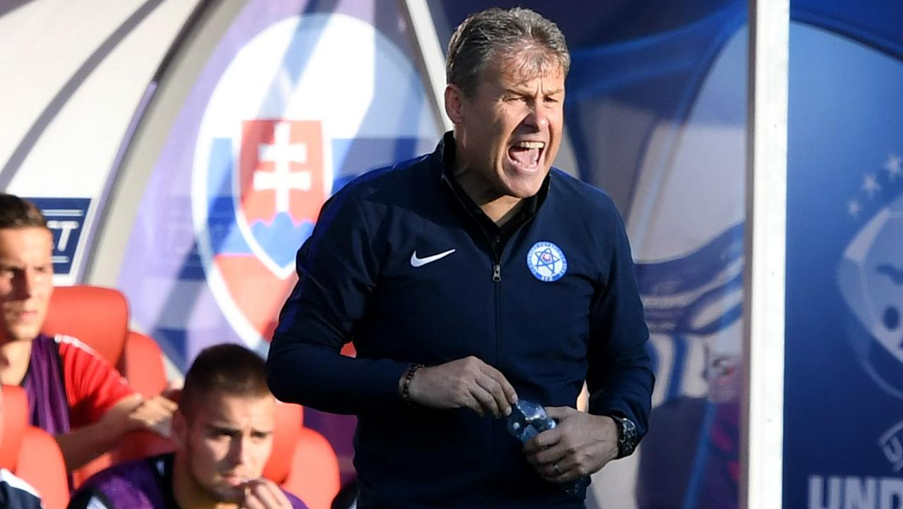The manager of the Slovak side was left furious by the manner in which his side were eliminated from the UEFA U21 European Championship