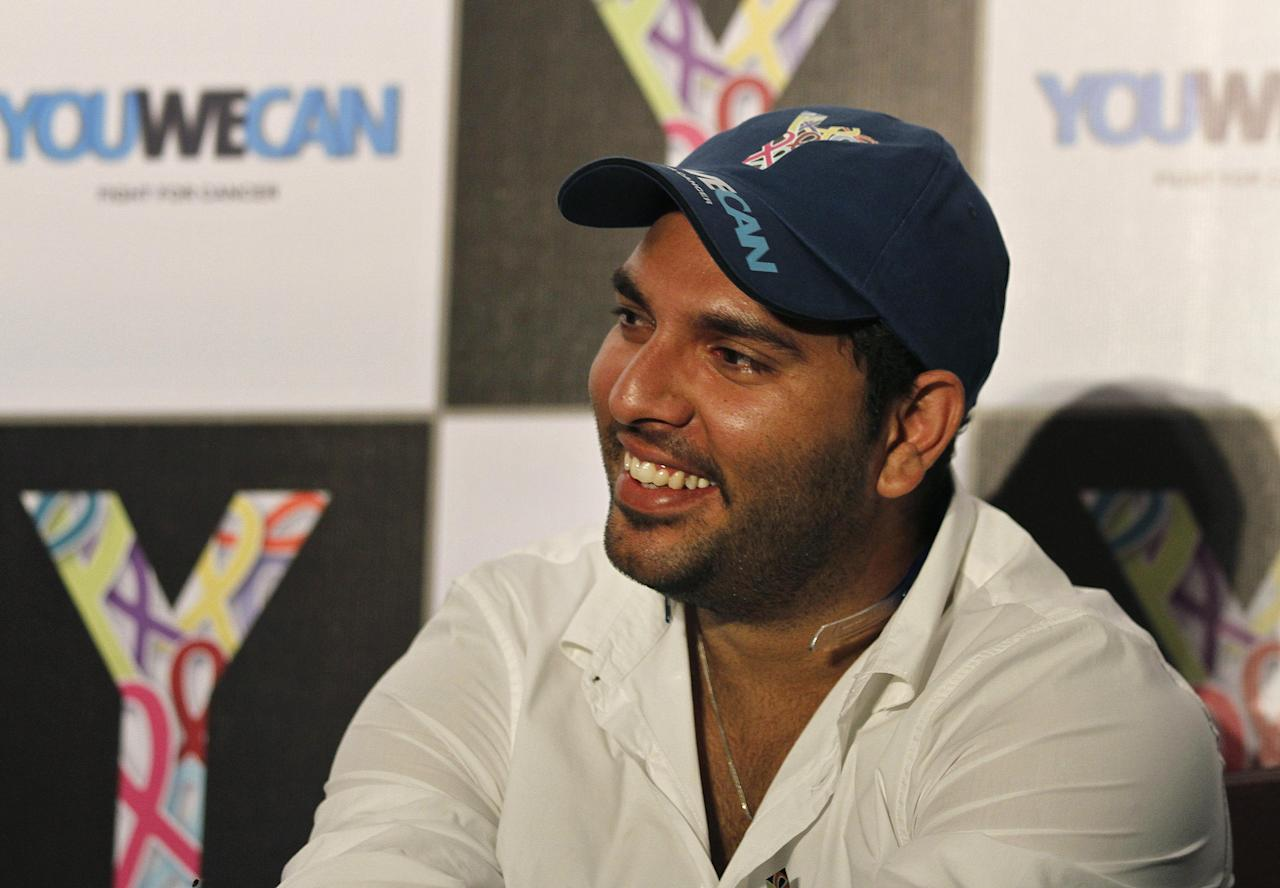 Yuvraj Singh With all that he's gone through in the past year, here's a man I'd love to sit down with and just listen to. And believe me it takes a lot to shut me up! But for once I'd like to listen… So a dinner with the man himself would be quite lovely.