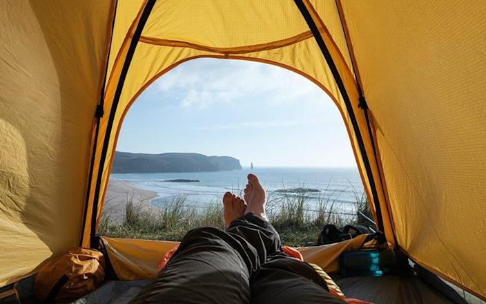 Wake to to sea views at these coastal campsites - Getty
