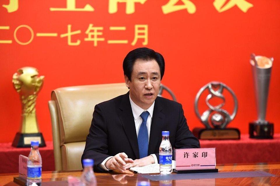 Evergrande founder Hui Ka-yan is seeking to rescue his property empire from sinking under US$305 billion of liabilities. Photo: Handout