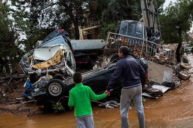 Around 1,000 homes and properties in the areas hit by flooding in Greece have been damaged and their owners will be given state compensation