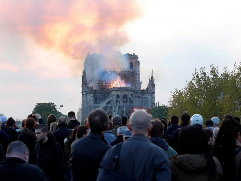 Notre Dame fire: Alt-right conspiracy theorists are using the cathedral blaze to spread anti-Muslim rhetoric