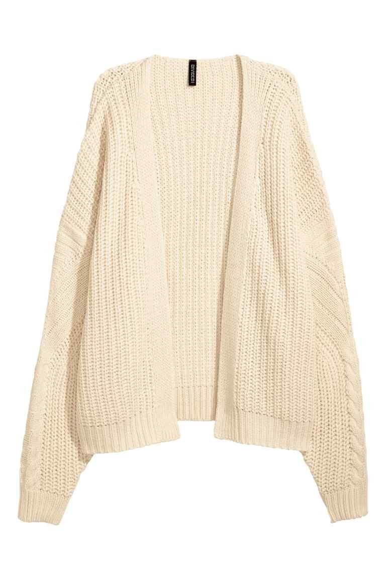 """<p>How cosy does this knitted number look? It's just landed in store and we cannot wait to team ours with a slogan-emblazoned tee and jeans this season. <em><a rel=""""nofollow noopener"""" href=""""http://www2.hm.com/en_gb/productpage.0537969001.html"""" target=""""_blank"""" data-ylk=""""slk:H&M"""" class=""""link rapid-noclick-resp"""">H&M</a>, £29.99</em> </p>"""