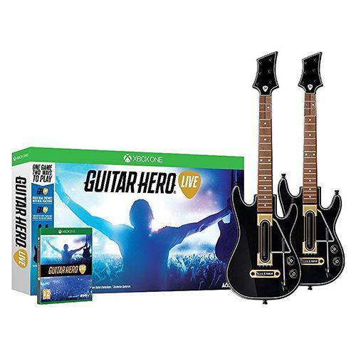 """<p><strong><em>Guitar Hero Live 2-Pack Bundle</em></strong><strong><em>, $120</em></strong> <a class=""""link rapid-noclick-resp"""" href=""""https://www.amazon.com/Guitar-Hero-Live-2-Pack-Bundle-PlayStation/dp/B00ZQB7FME?tag=syn-yahoo-20&ascsubtag=%5Bartid%7C10050.g.35033504%5Bsrc%7Cyahoo-us"""" rel=""""nofollow noopener"""" target=""""_blank"""" data-ylk=""""slk:BUY NOW"""">BUY NOW</a></p><p>Playing the guitar is a difficult skill that takes years of practice to perfect. That's why Guitar Hero was such a hit in the mid 2000s. Instead of plucking away at coarse strings in order to make sounds, the player simply follows the color coded notes on the TV screen and presses each button on the neck of the instrument in correspondence to the song being played.</p>"""