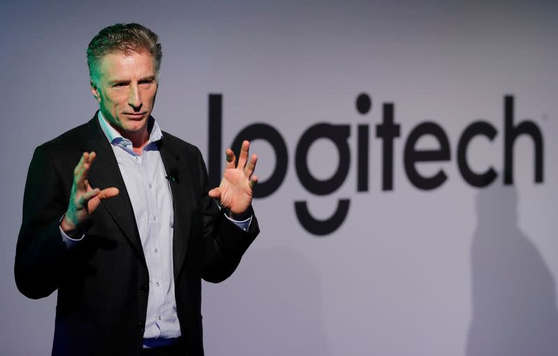 Logitech's adjusted operating income rises 5.9%
