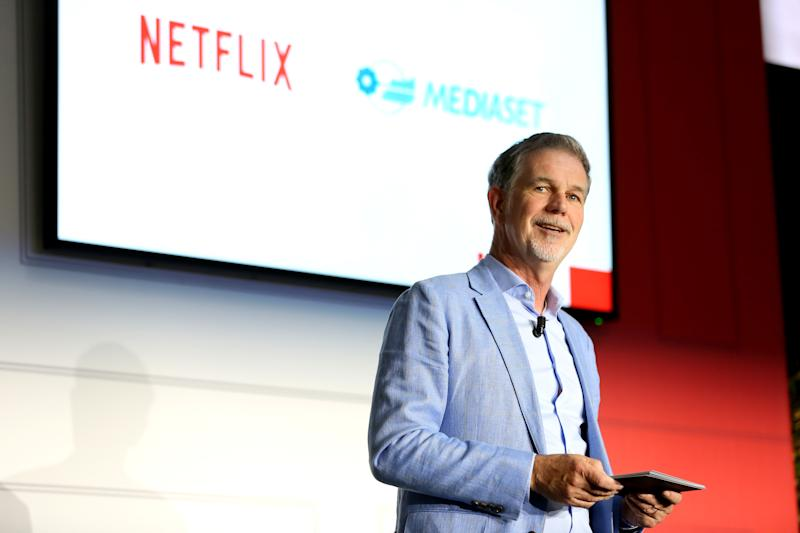 Netflix CEO Reed Hastings has been open about his desire to spend more, not less, on content