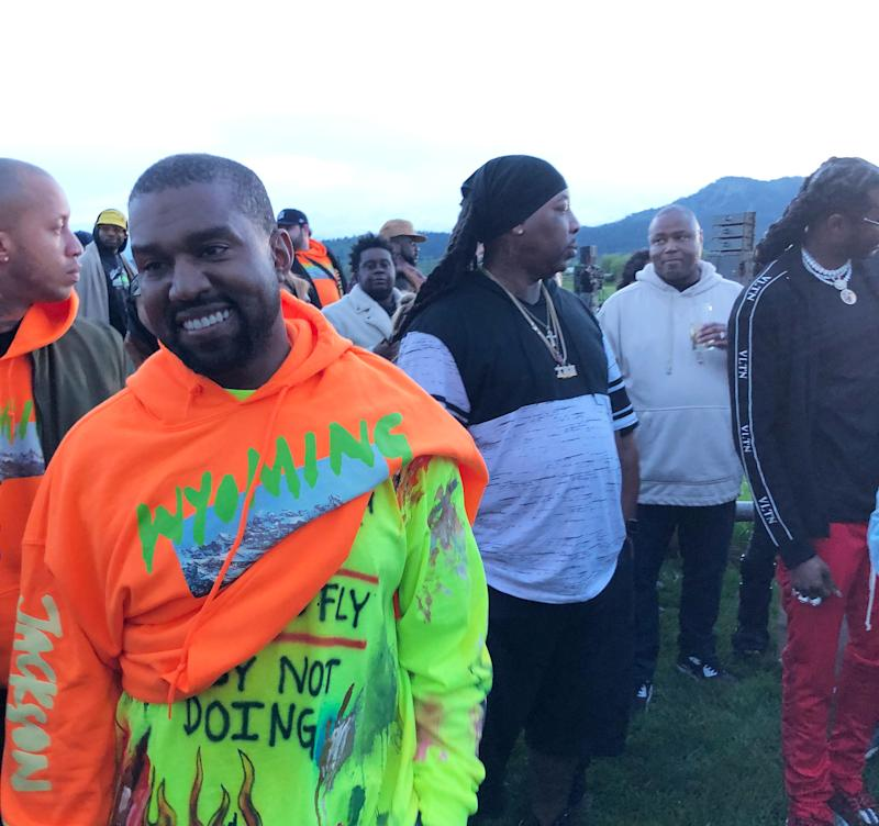 Kanye Goes West: Wyoming's Office of Tourism on the State's