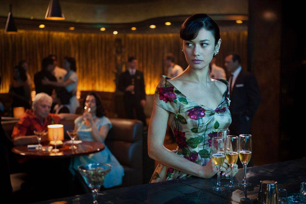 "Olga Kurylenko as Vera Evans in ""Magic City"" Season 2."