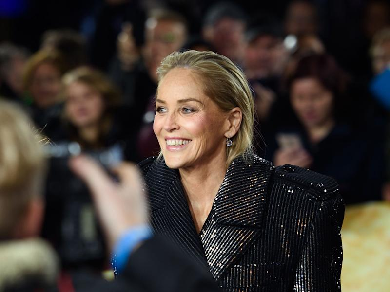 Sharon Stone Blocked on Dating App Bumble