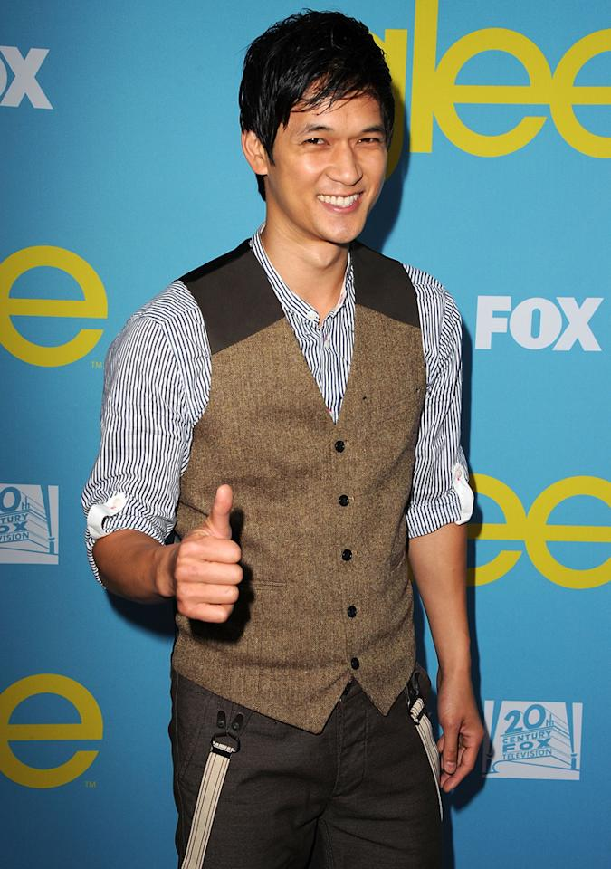 "Harry Shum Jr. attends a special screening of ""<a target=""_blank"" href=""http://tv.yahoo.com/glee/show/44113"">Glee</a>""  hosted by The Academy of Television Arts & Sciences at Leonard H.  Goldenson Theatre on May 1, 2012 in North Hollywood, California."