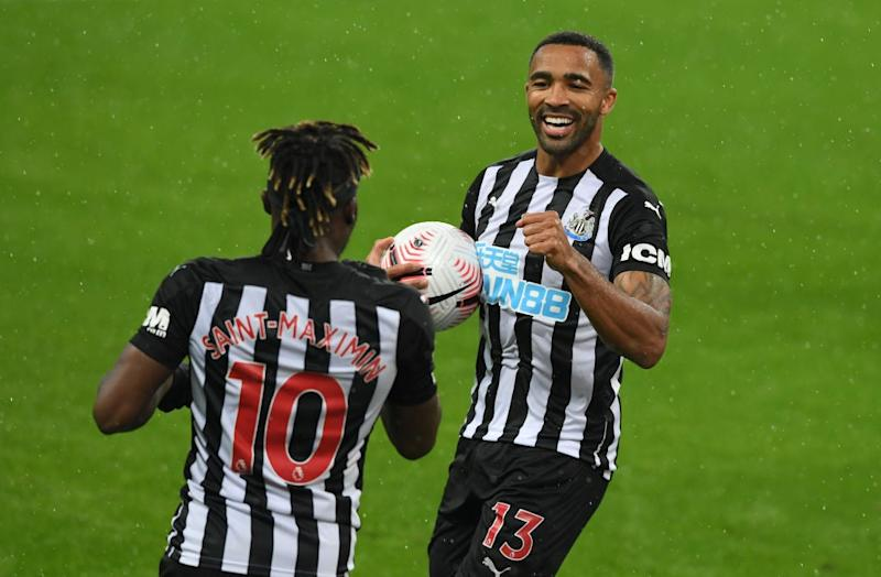 Callum Wilson celebrates for Newcastle (Getty Images)