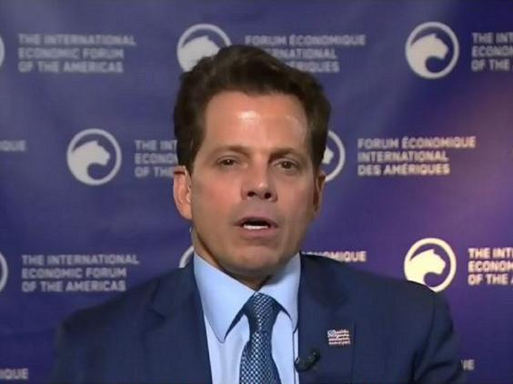 Former White House communications director Anthony Scaramucci speaking about Donald Trump to CTV News, 6 September 2019. (CTV News)