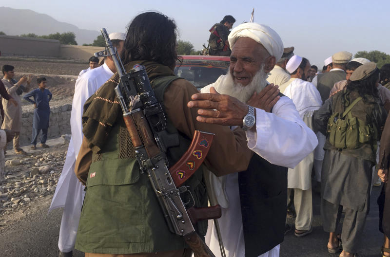 The Taliban Have Taken at Least 100 People Hostage in Northern Afghanistan, Officials Say