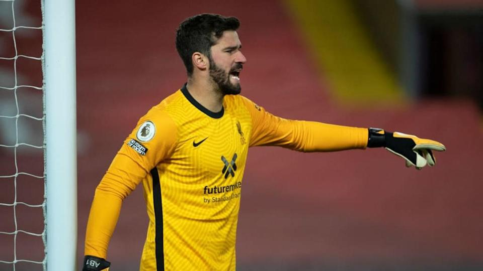 Alisson, Liverpool   Visionhaus/Getty Images