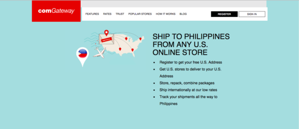 international shipping companies - comgateway