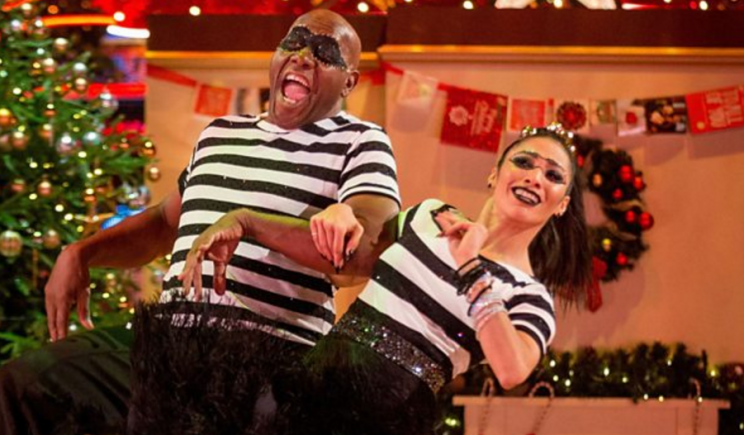Ainsley & Karen Jive on Strictly's Christmas Special