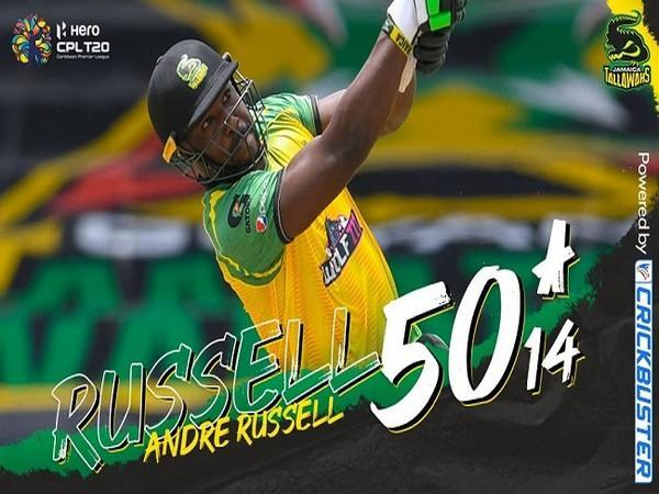 Andre Russell (Image: Jamaica Tallawahs)