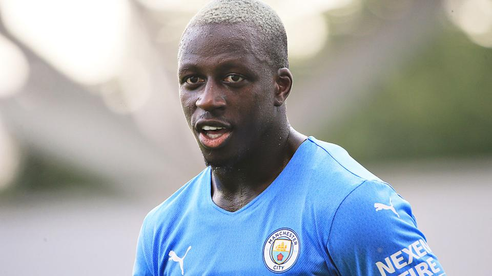 Manchester City have suspended Benjamin Mendy after he was charged with rape by police. Pic: Getty