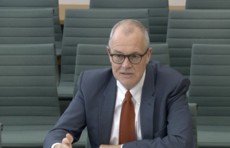 Sir Patrick Vallance warned 'it's quite probable that we will see this virus coming back in different waves over a number of years'. (Parliamentlive.tv)