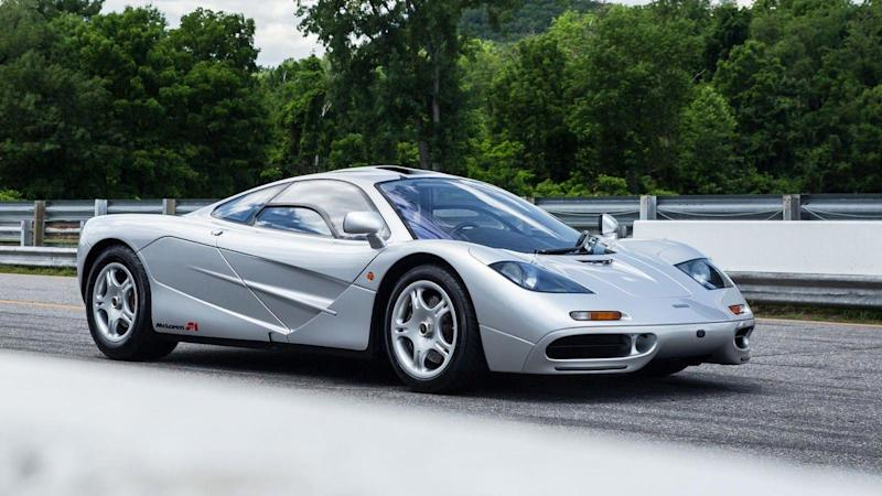 Delicieux Very Rare First USA Spec McLaren F1 To Be Auctioned