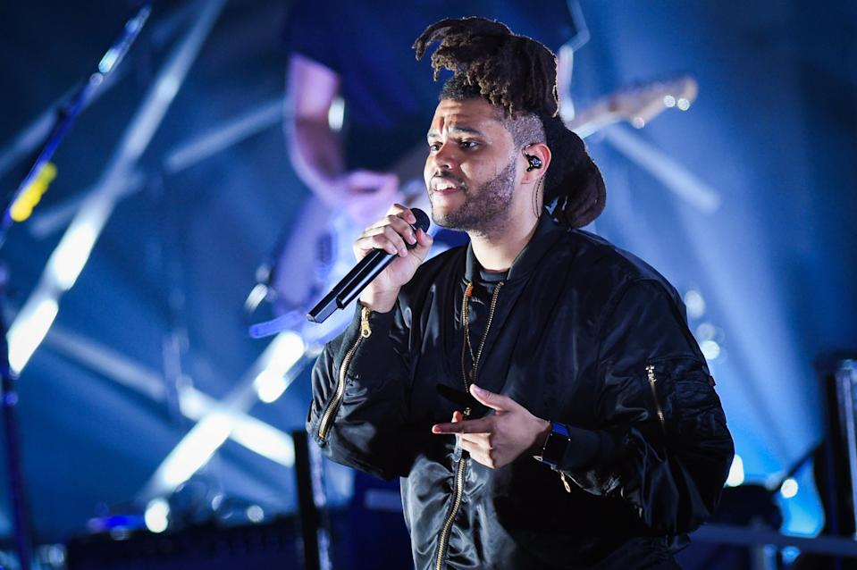 The Weeknd - Credit: Scott Roth/Invision/AP